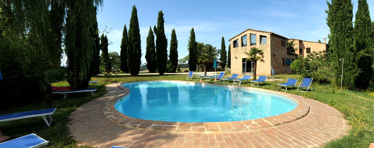 Agriturismo Val d'Orcia met zwembad